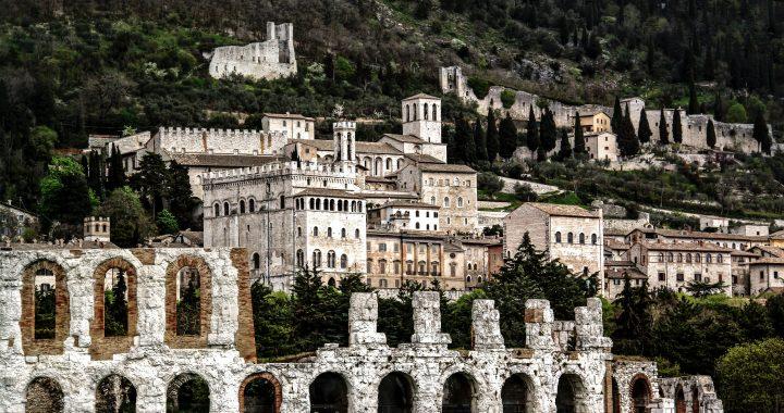 La bandiera dell'Umbria