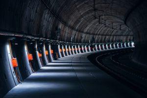 Il  tunnel che porta i neutrini dal CERN al Gran Sasso