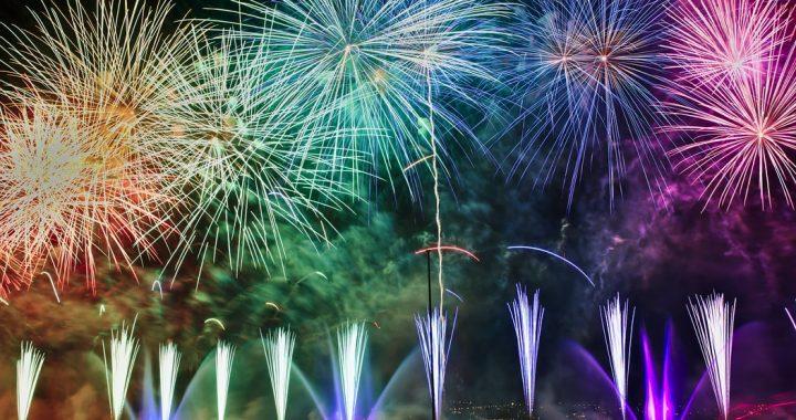 Fuochi d'artificio: l'uso della polvere da sparo per scopi ludici
